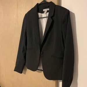 Gray work blazer H&M